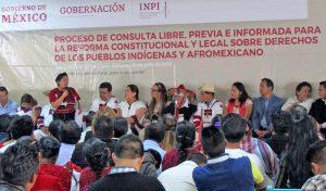 Proceso de consulta para la Reforma Constitucional y Legal sobre Derechos de los Pueblos Indígenas y Afromexicano, San Cristóbal de Las Casas, Chiapas, julio de 2018 © SIPAZ