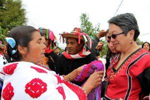 Victoria Tauli-Corpus, Relatora especial de la ONU sobre los derechos de los pueblos indígenas, visita a Chiapas, 2018 © Frayba