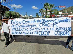 Justicia en el caso de la desaparición forzada (y posterior asesinato) de Arnulfo Cerón © SIPAZ