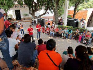 Entrevista de SIPAZ con desplazados de Chichihualco, Sierra de Guerrero © SIPAZ