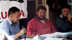 Juan de la Cruz libre, conferencia de prensa, diciembre de 2019 © SIPAZ